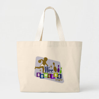 Wee Bowling League Jumbo Tote Bag