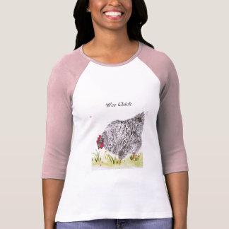 Wee Chick hen chicken long sleeved t shirt