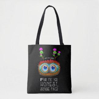 Wee Haggis, Sonsie Face Tote Bag