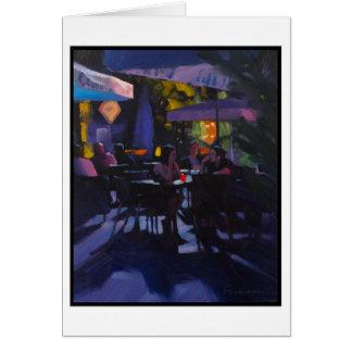 """""""Wee Hours in Berlin"""" Card"""