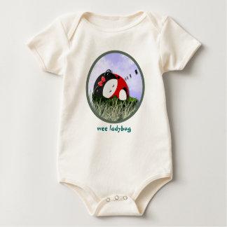 Wee Ladybug Baby Bodysuit