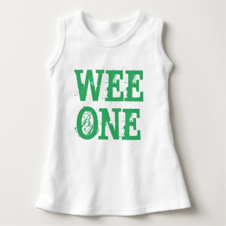 WEE ONE ST. PATRICK'S DAY BABY GIRL DRESS