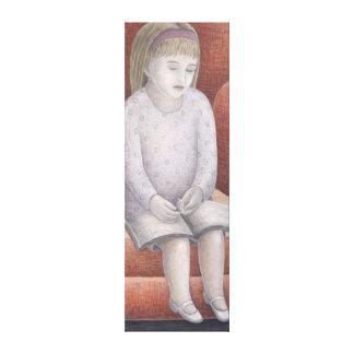 Wee Reader 2005 Canvas Print