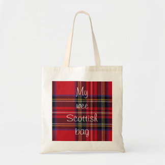 Wee Scottish Tote Bag
