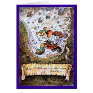 Wee sleekit cowran tim rous beastie poetry card