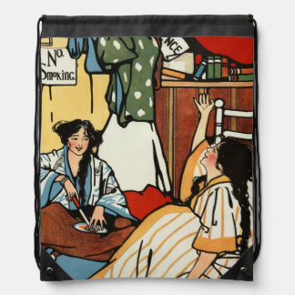 Wee sma' hours drawstring backpack