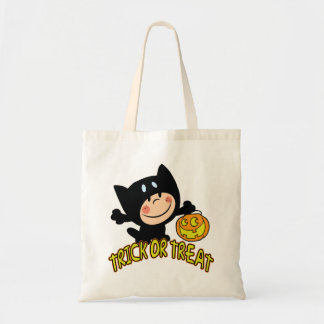 Wee Trick Or Treater Halloween Tote Bag