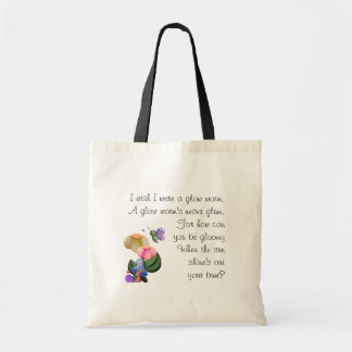 Wee View Snail & Butterfly Budget Tote Bag