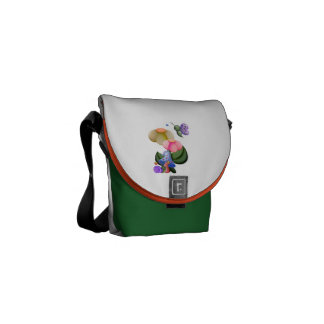 Wee View Snail & Butterfly Courier Bags