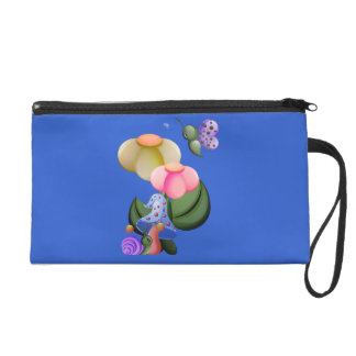 Wee View Snail & Butterfly Wristlet