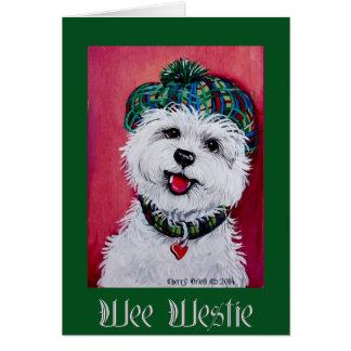 Wee Westie Card