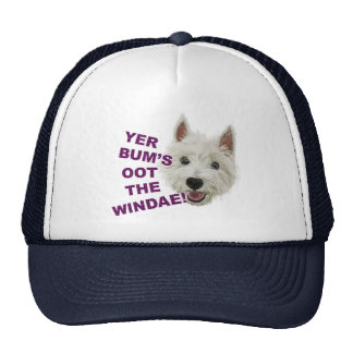 Wee Westie's Words of Wisdom Cap