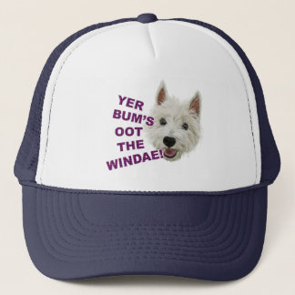Wee Westie's Words of Wisdom Trucker Hat