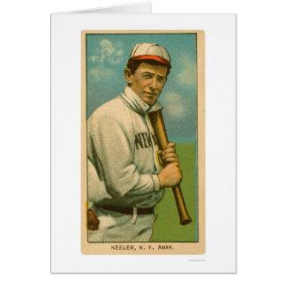 Wee Willie Keeler Baseball 1909 Greeting Card