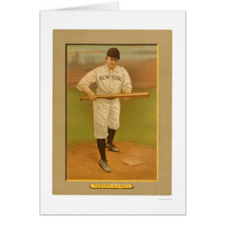 Wee Willie Keeler Giants Baseball 1911 Greeting Card