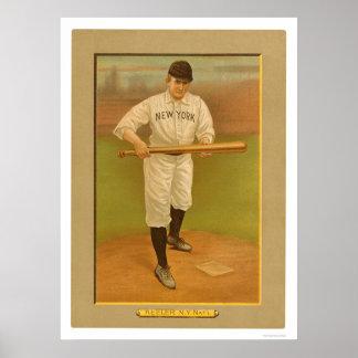 Wee Willie Keeler Giants Baseball 1911 Poster