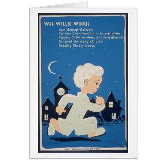 Wee Willie Winkie Card
