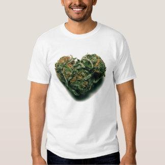 weed heart shirts