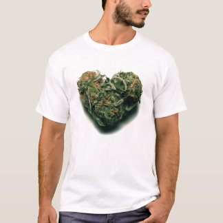 weed heart T-Shirt