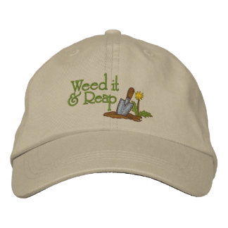 Weed It Embroidered Hats