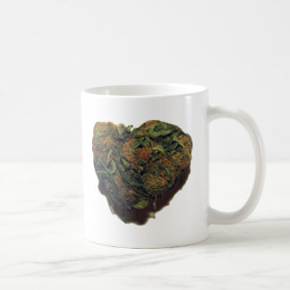 WEED/KUSH HEART COFFEE MUG