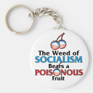 Weed of Socialistm Key Ring
