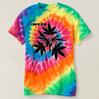 Weed Tree Bubs black-Drawing Spiral T-Shirts