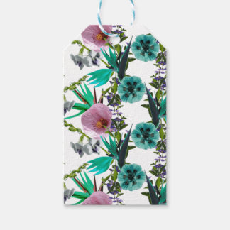 Weeds - Green Nature Collage Print by Zala Farah Gift Tags