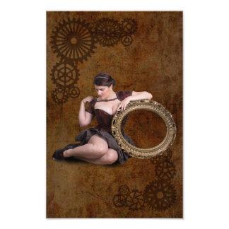 Week 21 - steampunk photo print