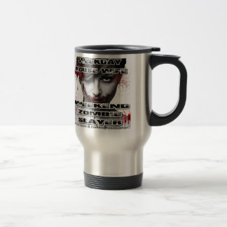Weekday House Wife, Weekend Zombie Slayer. Coffee Mug