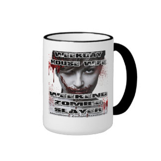 Weekday House Wife, Weekend Zombie Slayer. Mug