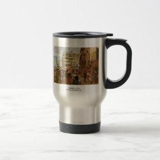 Weekday In Paris By Menzel Adolph Von Coffee Mug