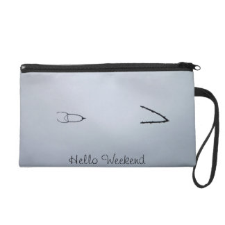 Weekend Abstract Wristlet