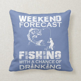 WEEKEND FORECAST FISHING CUSHION