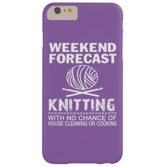 WEEKEND FORECAST KNITTING BARELY THERE iPhone 6 PLUS