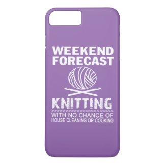 WEEKEND FORECAST KNITTING iPhone 7 PLUS CASE
