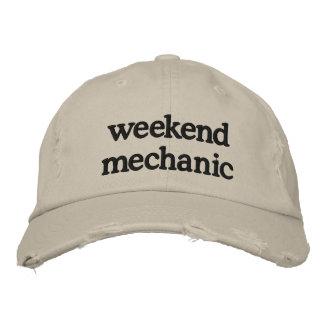 weekend mechanic baseball cap
