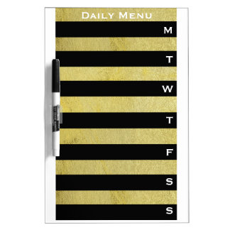 Weekly Day Planner Calendar List to Do Dry Erase Board