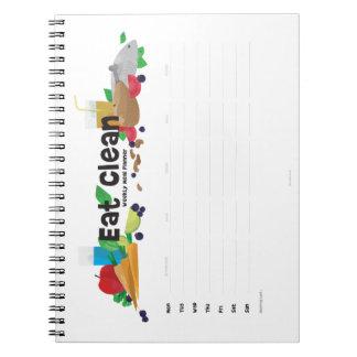 Weekly Food Planner Note Book