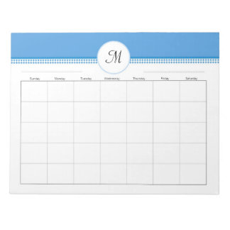Weekly Organizer for Binders with  40 Pages Notepad