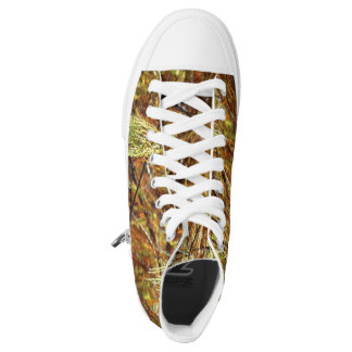 Weeping Autumn Splendor Printed Shoes