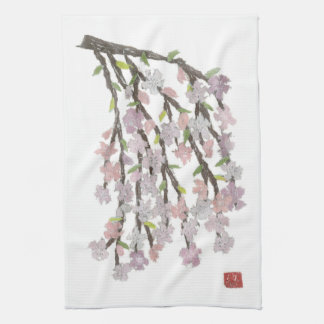 Weeping Cherry Kitchen Towels