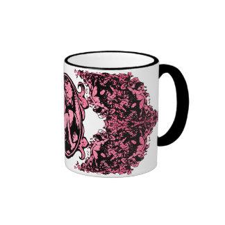 Weeping Cherub in Pink Coffee Mugs