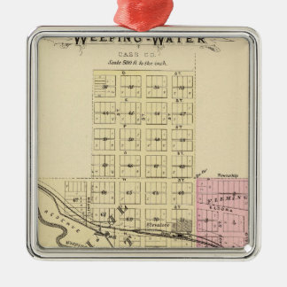 Weeping Water, Nebraska Christmas Ornament