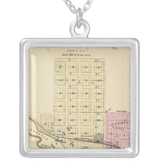 Weeping Water, Nebraska Silver Plated Necklace