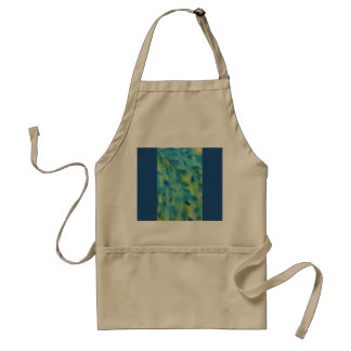 Weeping willow branches Abstract Standard Apron
