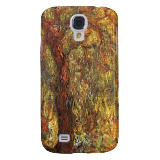 Weeping Willow by Claude Monet, Vintage Fine Art Galaxy S4 Case
