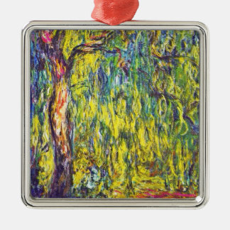 Weeping Willow Claude Monet Christmas Ornament