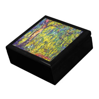Weeping Willow Claude Monet Large Square Gift Box