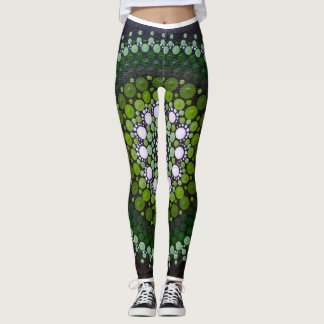 Weeping Willow Ladies Mandala Leggings